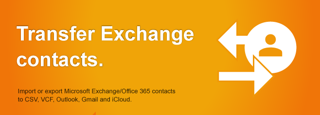 Transfer Exchange Office 365 contacts