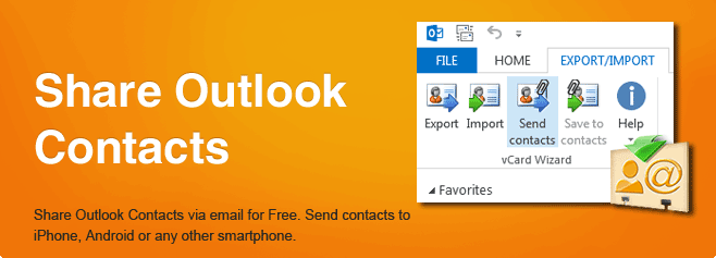 Share Outlook Contacts